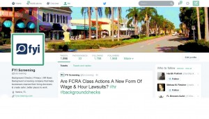 FYI Screening Twitter Profile